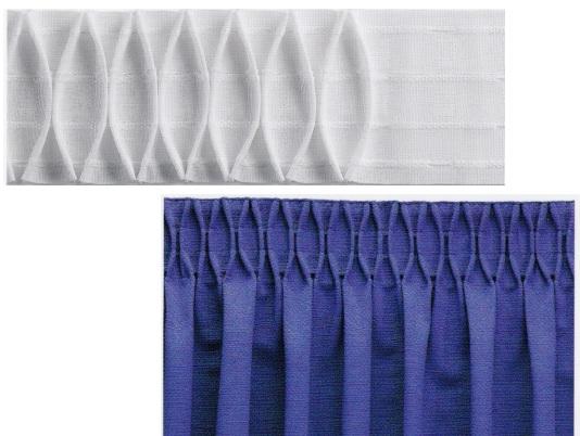 Riloga per tende doppia tasca a30mm 4tiranti for Riloga tende ikea